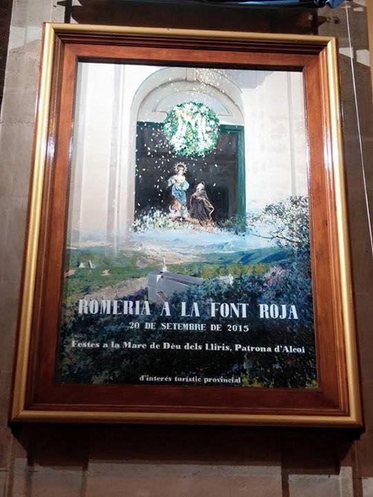 El autor del Cartel es el reconocido pintor alcoyano Jorge Cerdá Gironés