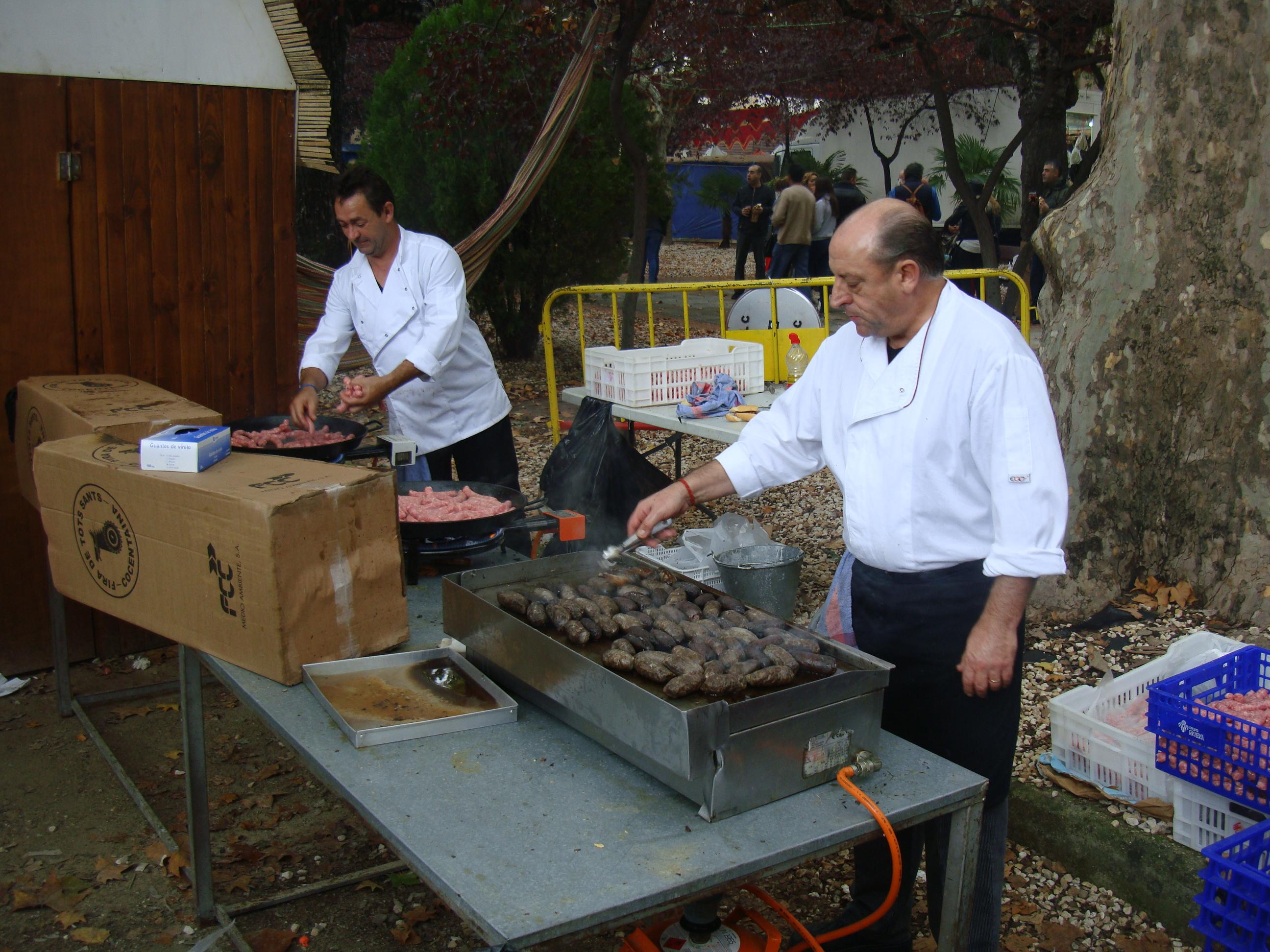 En el Esmorçar de Fira se repartieron más de dos mil bocadillos