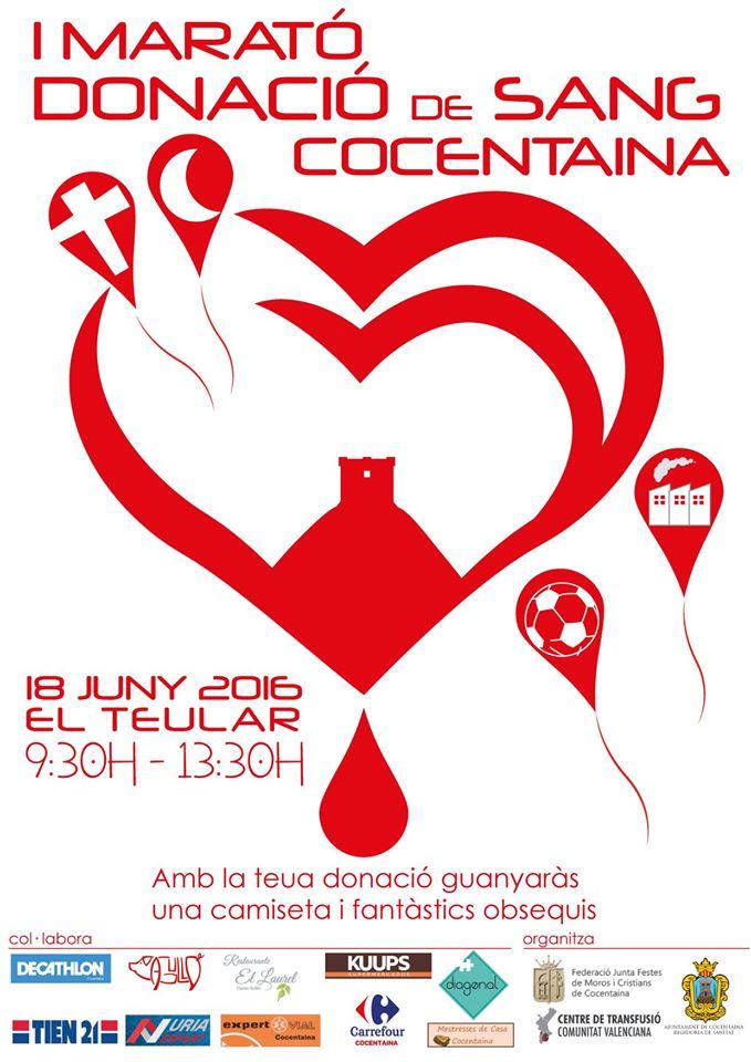 Maratón Donación de Sangre Cocentaina