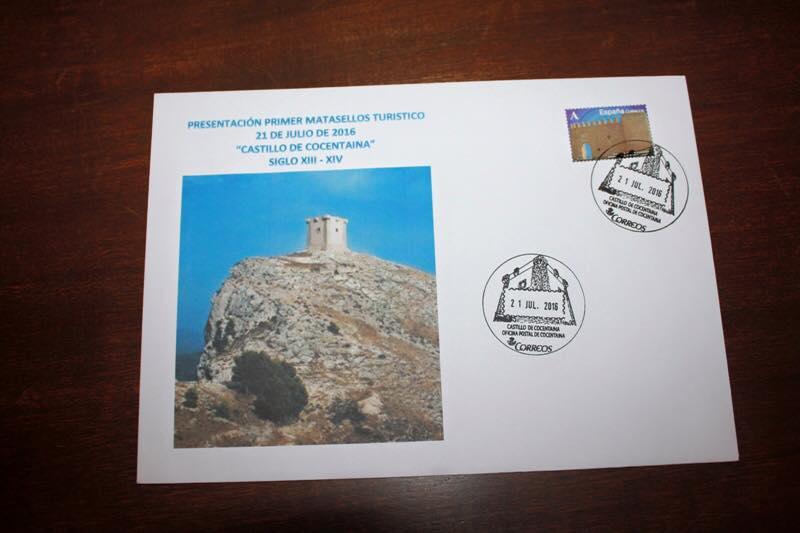 Matasellos Castillo de Cocentaina