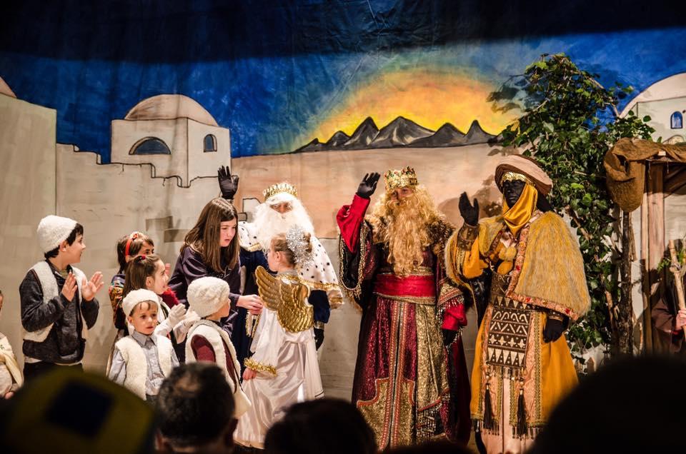 Los Reyes Magos en Alfafara