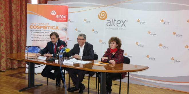 AITEX lanza una Unidad Técnica de Cosmética