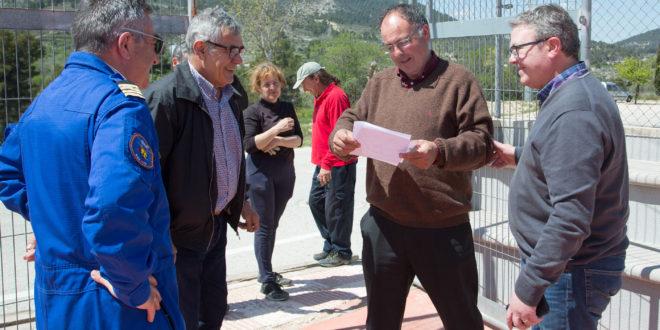 La Diputación habilita varias helisuperficies en la Comarca
