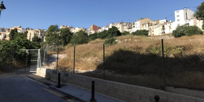 Planificada la primera fase del aparcamiento de La Riba