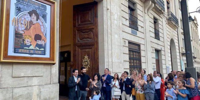 Homenaje a Doña Amalia para iniciar la Semana Modernista de Alcoy
